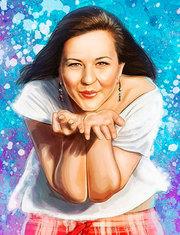 Портреты на заказ Алматы